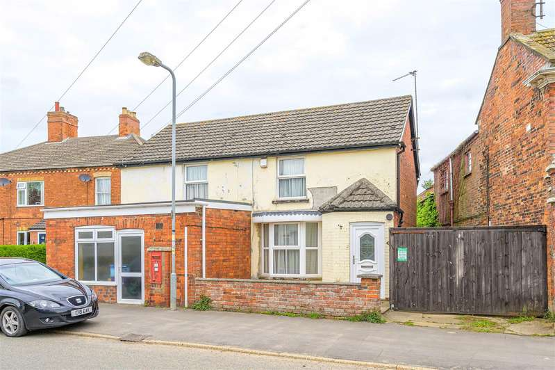 4 Bedrooms Detached House for sale in Main Road, Hundleby, Spilsby