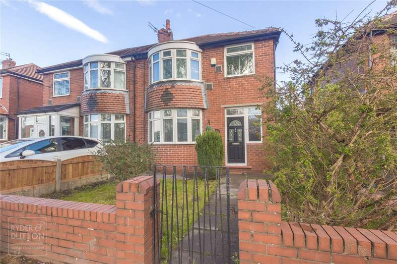 3 Bedrooms Semi Detached House for sale in Broadway, Chadderton, Oldham, OL9