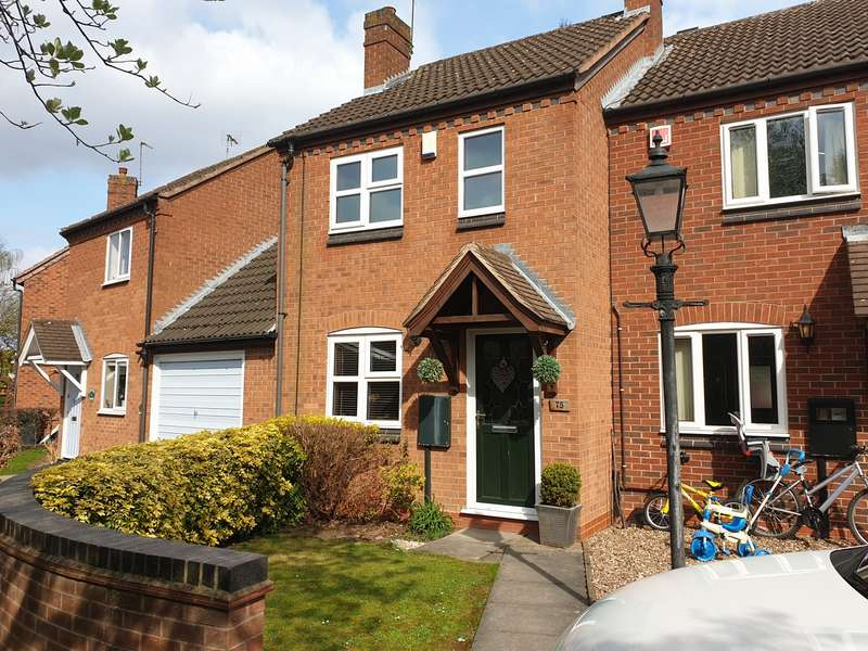 2 Bedrooms End Of Terrace House for sale in Glebelands Road, Leicester, LE4