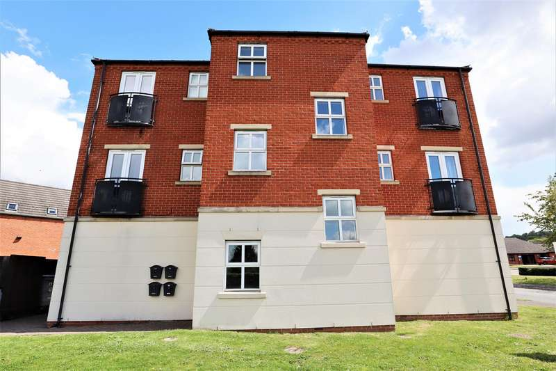 2 Bedrooms Flat for sale in Carram Way, Lincoln