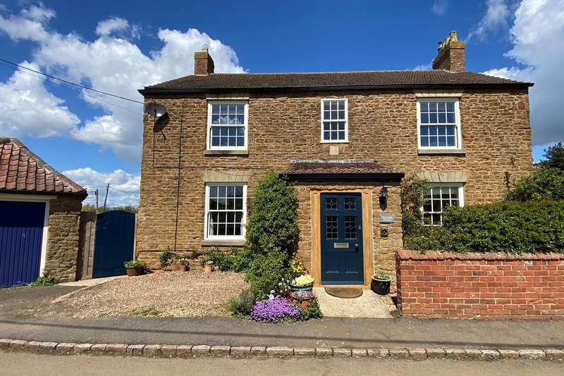 4 Bedrooms Detached House for sale in Wycomb, Melton Mowbray