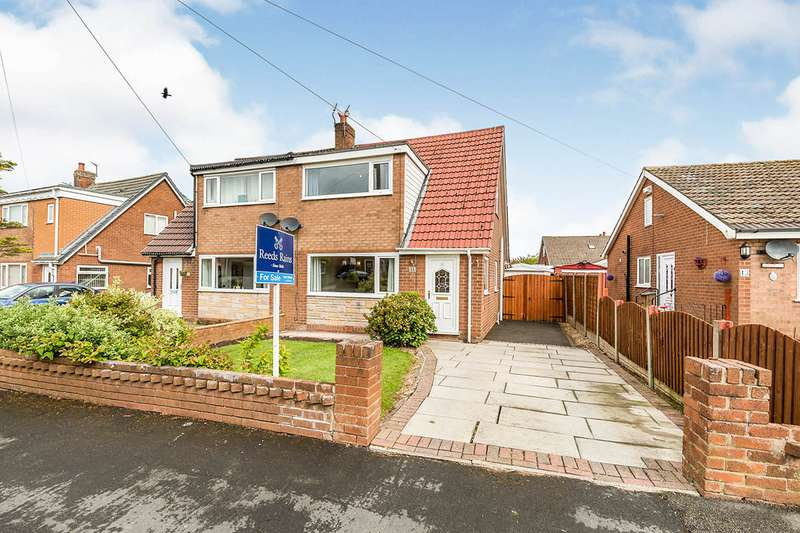 3 Bedrooms Semi Detached House for sale in Yew Tree Avenue, Euxton, Chorley, Lancashire, PR7
