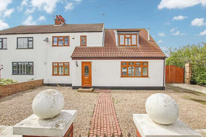 4 Bedrooms Semi Detached House for sale in Brant Road, Waddington