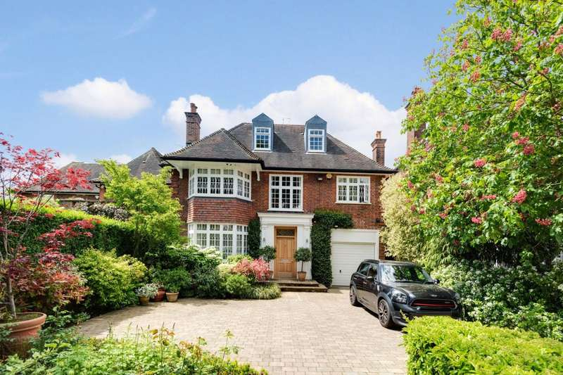 5 Bedrooms Detached House for sale in Farm Avenue, The Hocrofts, London, NW2