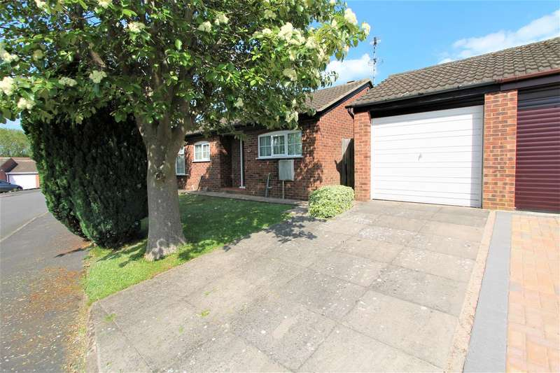 2 Bedrooms Detached Bungalow for sale in Wheatland Close, Oadby, Leicester LE2