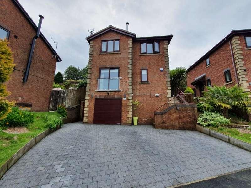4 Bedrooms Detached House for sale in Alderwood Fold, Lees, Oldham, OL4 5RW