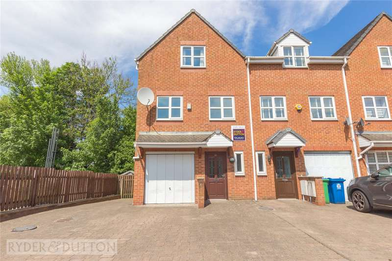 3 Bedrooms End Of Terrace House for sale in Silk Mill Way, Middleton, Manchester, M24