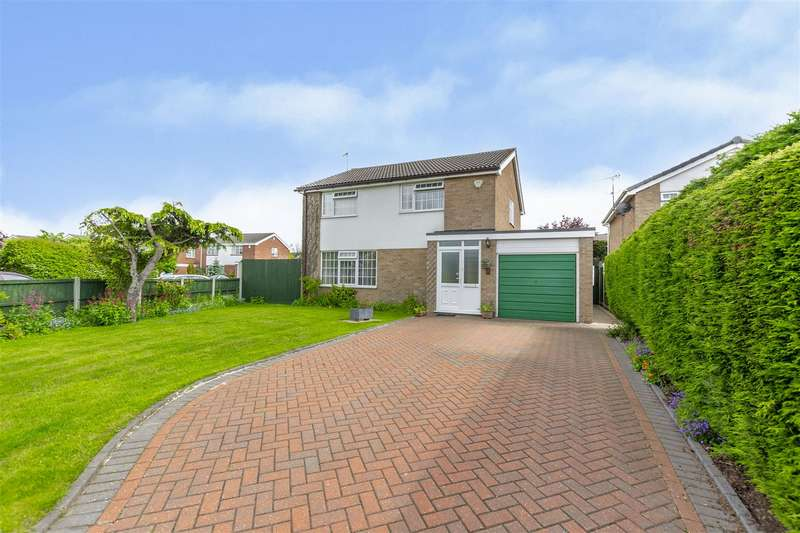 4 Bedrooms Detached House for sale in Cuillin Close, Long Eaton