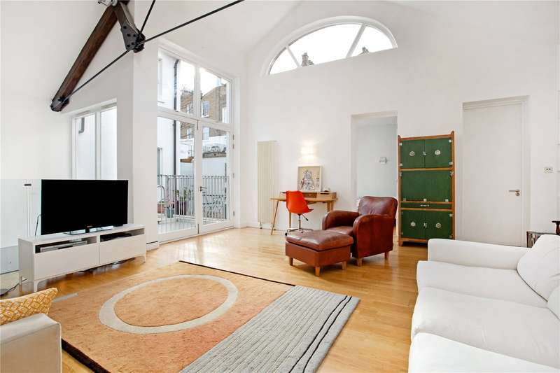 2 Bedrooms Apartment Flat for sale in The Sydney Building, 81-83 Southgate Road, London, N1