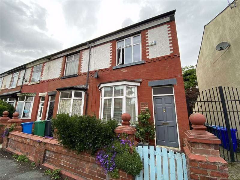 2 Bedrooms End Of Terrace House for sale in Neale Road, Chorlton