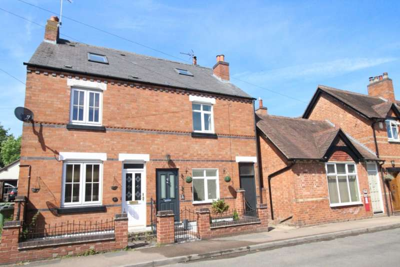 3 Bedrooms Semi Detached House for sale in Desford Road, Thurlaston, Leicester, Leicestershire, LE9