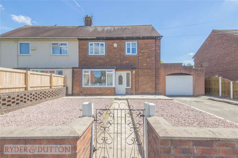 3 Bedrooms Semi Detached House for sale in Windermere Road, Middleton, Manchester, M24