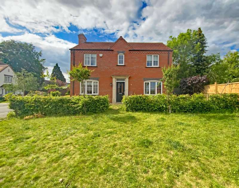 4 Bedrooms Detached House for sale in Monterey Court, Humberstone, Leicester