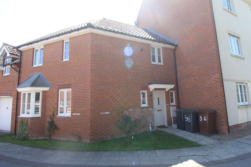 3 Bedrooms Terraced House for sale in Tall Pines Road, Lincoln, Lincolnshire, LN6