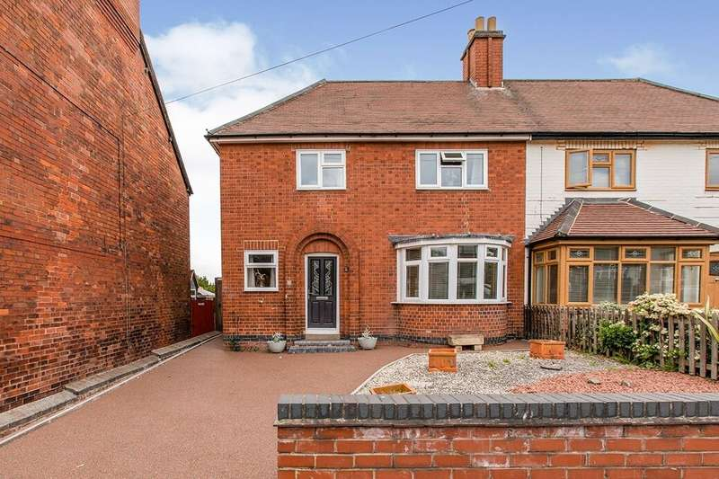 3 Bedrooms Semi Detached House for sale in Brooks Lane, Whitwick, Coalville, LE67