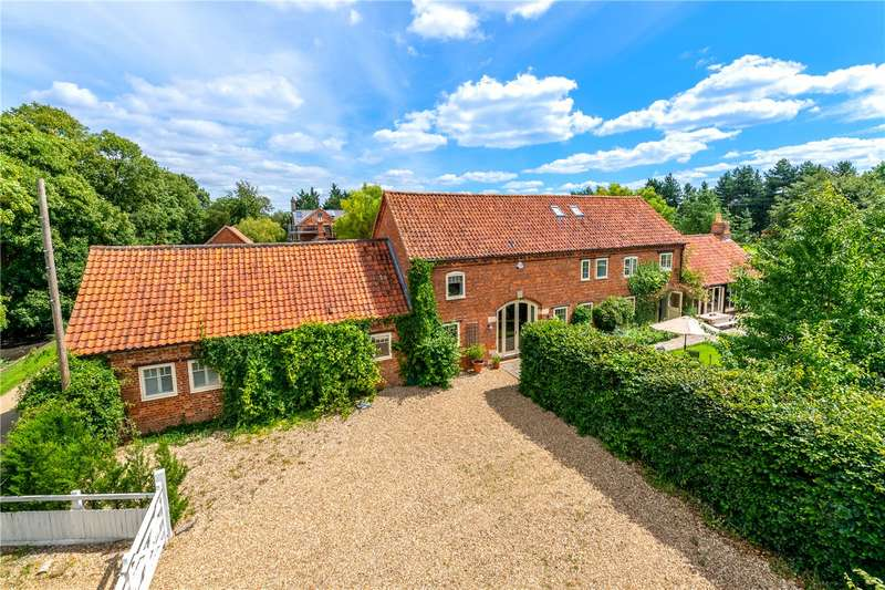 4 Bedrooms Link Detached House for sale in Moor Farm, East Road, Sleaford, Lincolnshire, NG34