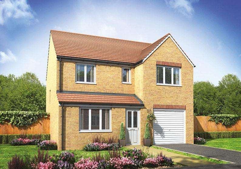 4 Bedrooms House for sale in The Longthorpe, Kings Gate, Hathern Road, Shepshed, Loughborough, LE12 9RP