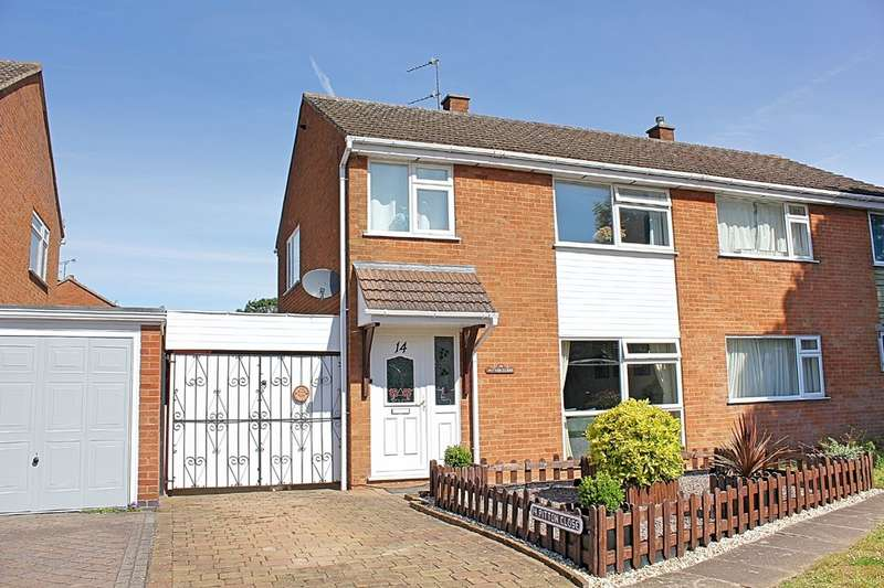 3 Bedrooms Semi Detached House for sale in Pitton Close, Wigston