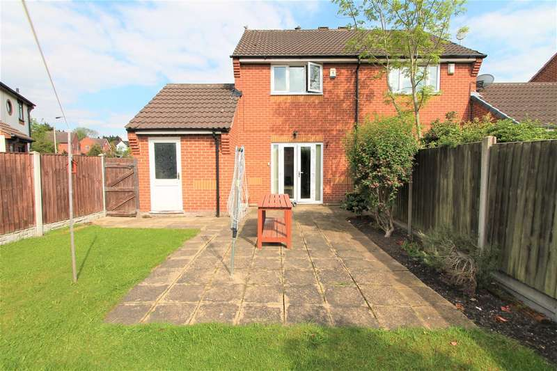 2 Bedrooms Semi Detached House for sale in Highgrove Crescent, Aylestone, Leicester LE2