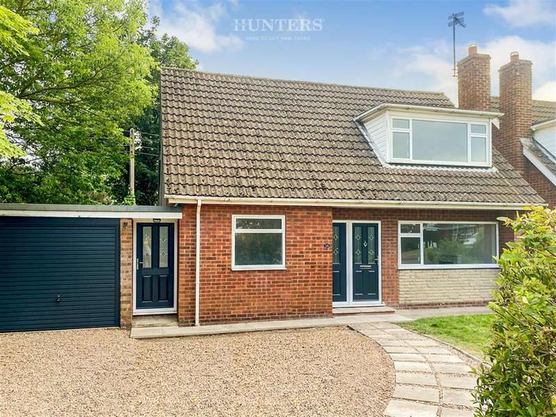 3 Bedrooms Detached House for sale in Trehampton Drive, Lea, Gainsborough, DN21 5EL
