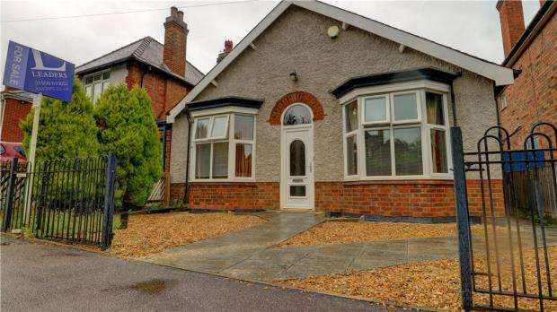 2 Bedrooms Bungalow for sale in Burfield Avenue, Loughborough, Leicestershire