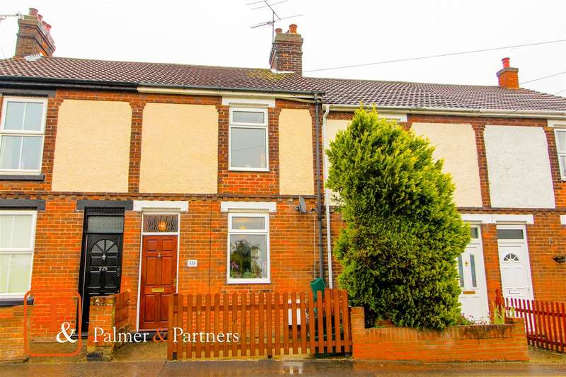 2 Bedrooms Terraced House for sale in Bergholt Road, Colchester CO4