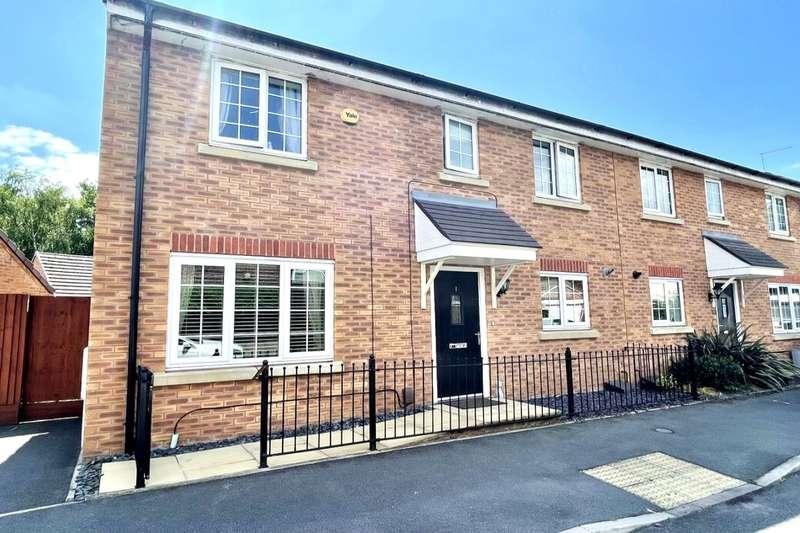 2 Bedrooms Semi Detached House for sale in Woodside, Kingshurst, Birmingham, B37