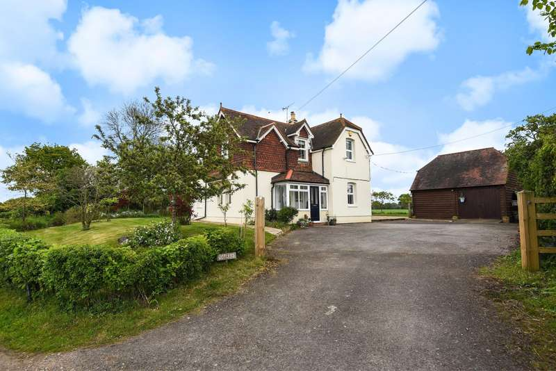 4 Bedrooms Detached House for sale in Kybes Lane, Grazeley, Reading, RG7