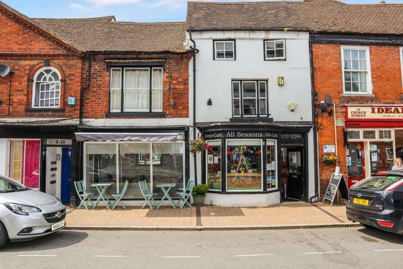 Retail Property (high Street) Commercial for sale in All Seasons Deli, 10 Church Street, Newent, Gloucestershire