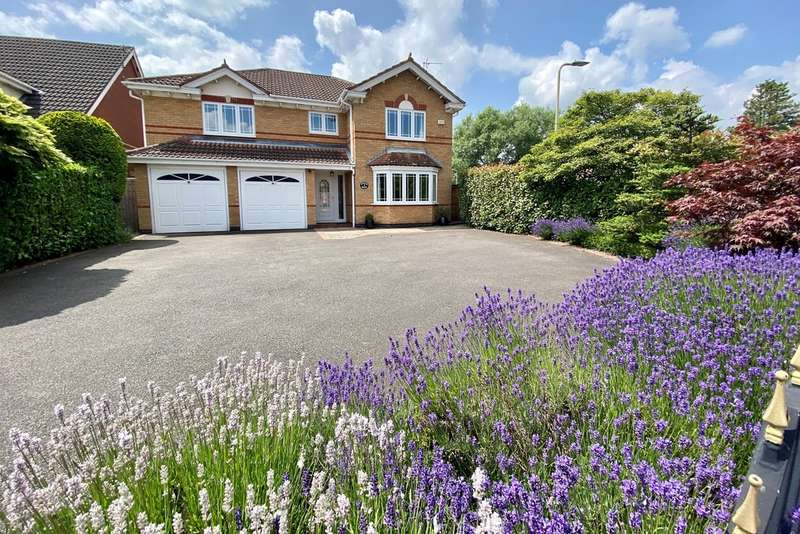 4 Bedrooms Detached House for sale in Featherbed Lane, Ashby-de-la-Zouch