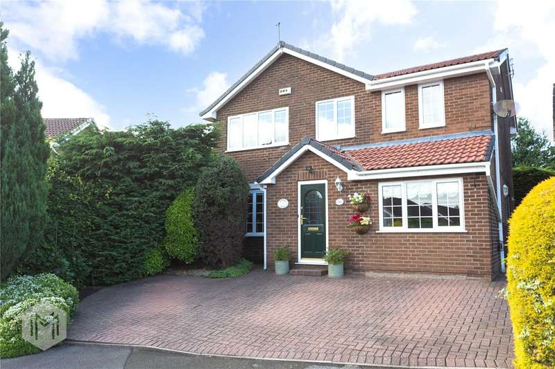 4 Bedrooms Detached House for sale in Horsham Close, Bury, BL8