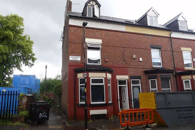 5 Bedrooms End Of Terrace House for sale in Landcross Road, Fallowfield, Manchester, M14