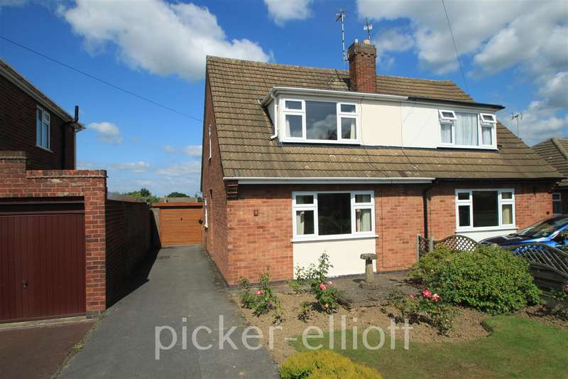 3 Bedrooms Semi Detached House for sale in The Fairway, Burbage