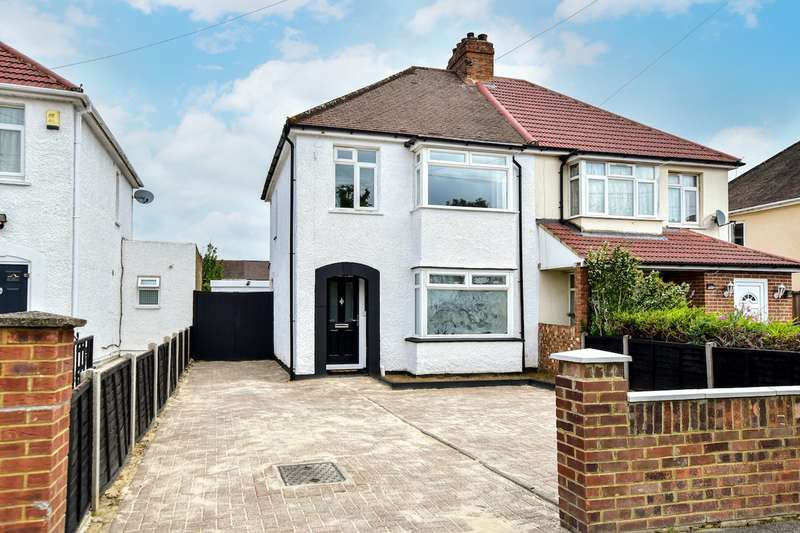 3 Bedrooms Semi Detached House for sale in Furnival Avenue, Slough, SL2