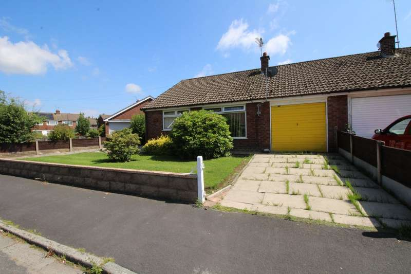 3 Bedrooms Semi Detached Bungalow for sale in Thirlmere Road, Partington, Manchester, Greater Manchester, M31