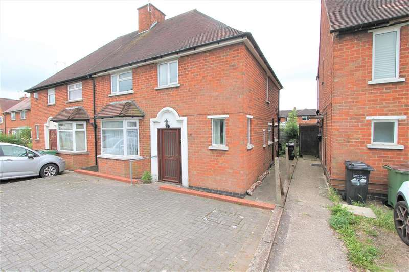 3 Bedrooms Semi Detached House for sale in Aylestone Lane, Wigston, Leicester LE18