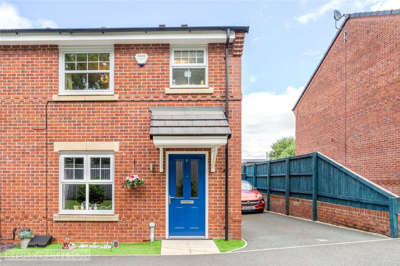 3 Bedrooms Semi Detached House for sale in Strawberry Close, Burnedge, Rochdale, OL16