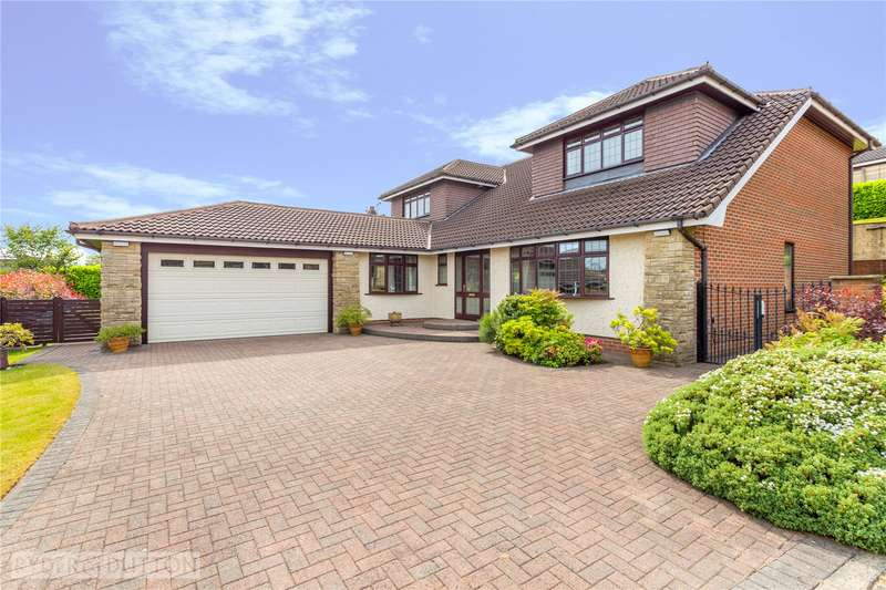 4 Bedrooms Detached House for sale in The Pentlands, High Crompton, Shaw, Oldham, OL2