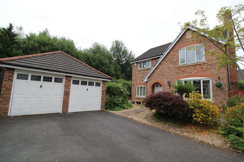 4 Bedrooms Detached House for sale in Bishopsgate Walk, Rochdale, Greater Manchester, OL16