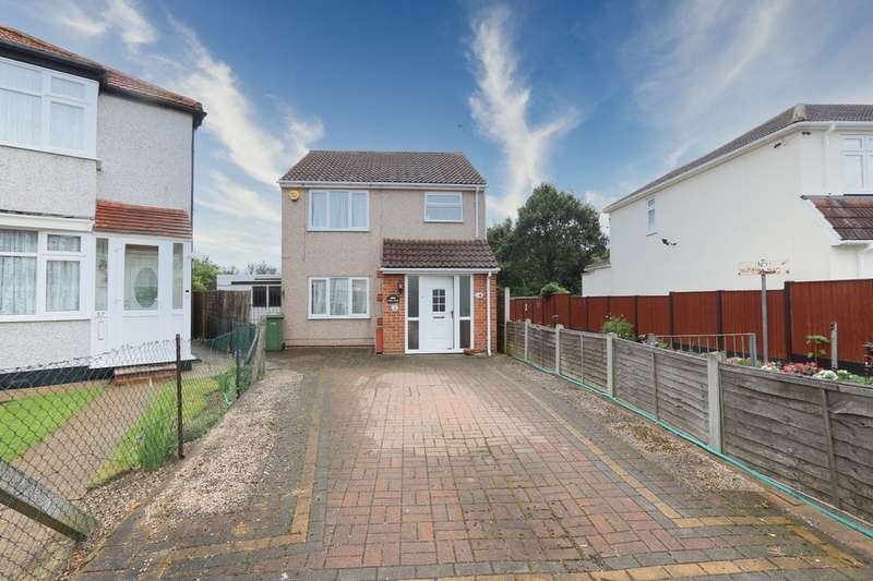 4 Bedrooms Detached House for sale in Linley Crescent, Romford, RM7