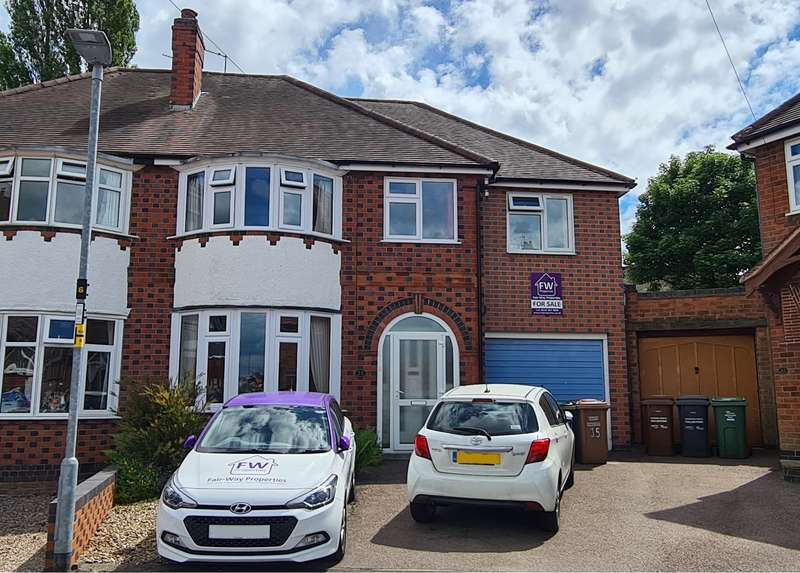 4 Bedrooms Semi Detached House for sale in Cliffwood Avenue, Birstall, LE4