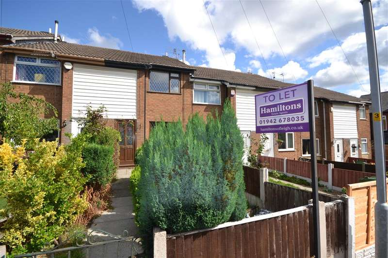 2 Bedrooms Terraced House for rent in Braeburn, Leigh, Greater Manchester. WN7 5BE