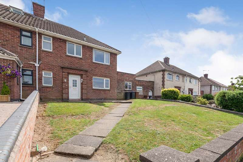 3 Bedrooms Semi Detached House for sale in Brookside, Burbage, Hinckley, Leicestershire, LE10