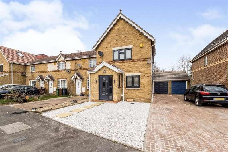 3 Bedrooms End Of Terrace House for sale in Keel Close, Barking, Essex, IG11 0XR