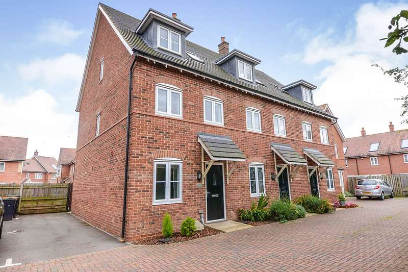 4 Bedrooms End Of Terrace House for sale in Hilton Close, Kempston, Bedford, Bedfordshire, MK42