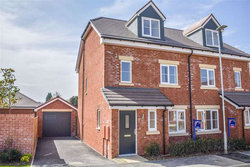 4 Bedrooms Semi Detached House for sale in Lister Gardens, Off Box Road, Cam, GL11