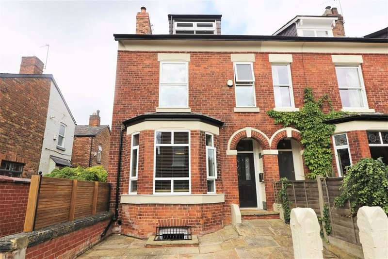5 Bedrooms End Of Terrace House for sale in Walsingham Avenue, West Didsbury, Manchester, M20
