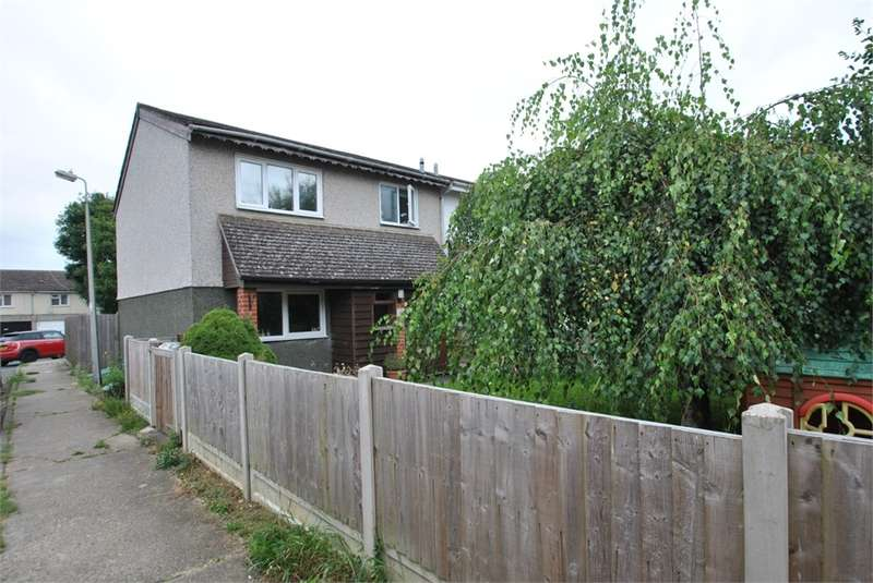 3 Bedrooms End Of Terrace House for sale in Johnson Close, Braintree, Essex