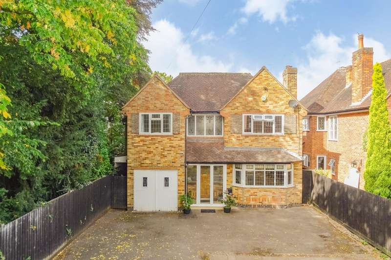 4 Bedrooms Detached House for sale in Knighton Road, Leicester
