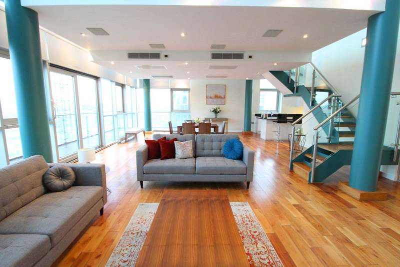 3 Bedrooms Penthouse Flat for rent in The Edge, Clowes Street, Manchester